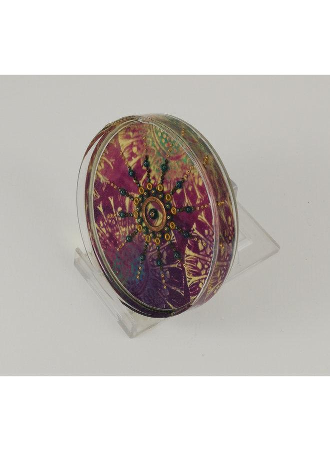 Hydra Glass Petri Dish Art  35