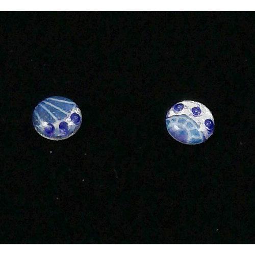 Nimanoma Ray Art round stud earrings  32