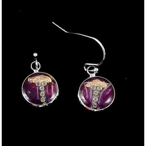 Nimanoma Soprano Art round drop earrings  25
