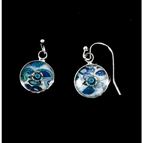 Nimanoma Thinker Art round drop earrings  23