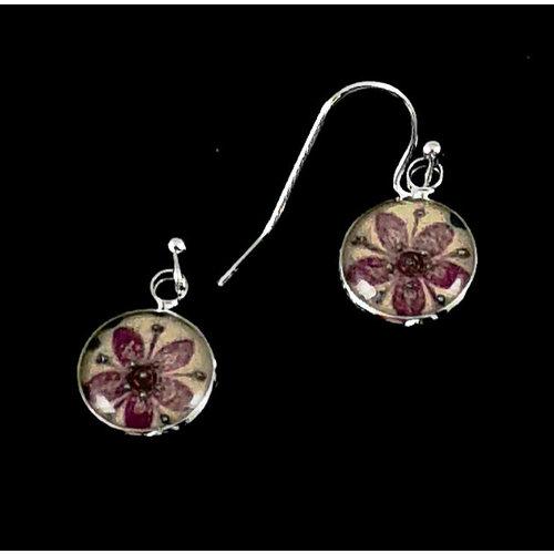 Nimanoma Cherry Art round drop earrings  28