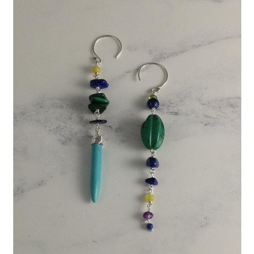 Katherine Bree Amulet Lagoon drop Earrings 23
