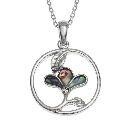 Tide Jewellery Collar de flores en forma de círculo 128