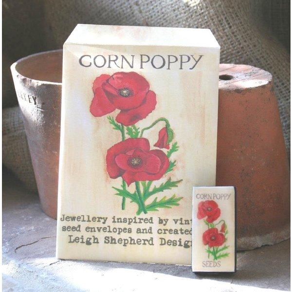 Poppy Domino Broche 35