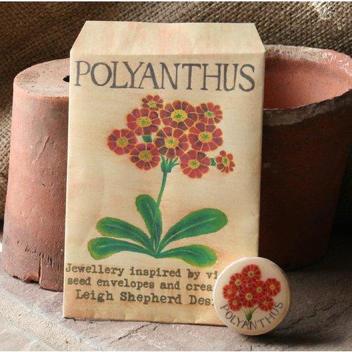 Leigh Shepherd Designs Polyanthus Drafts Broche 31