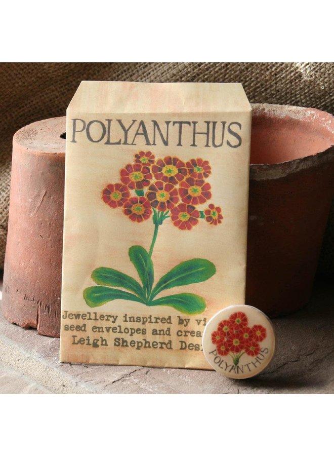Polyanthus Entwürfe Brosche 31