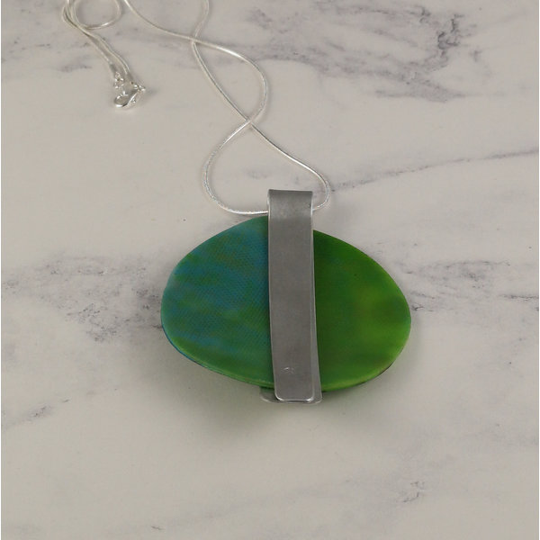 Miro pendant recylced plastic / aluminium Green 20