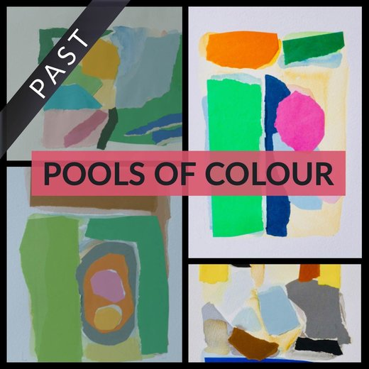 Pools von Farbe