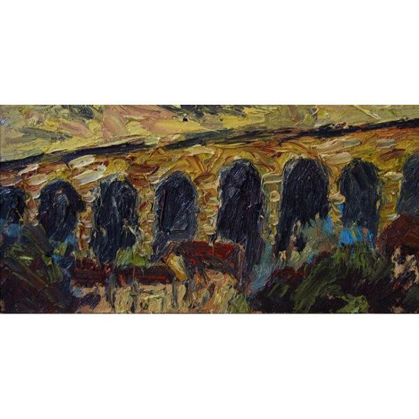 West Vale Viaduct Öl 008