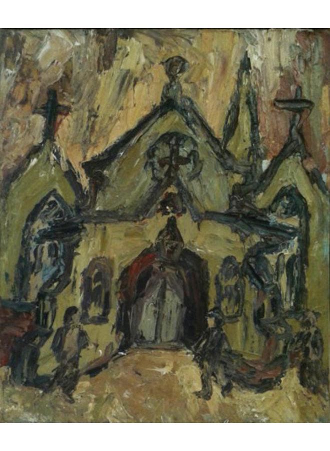 Unitarische Kirche Todmorden Öl 019