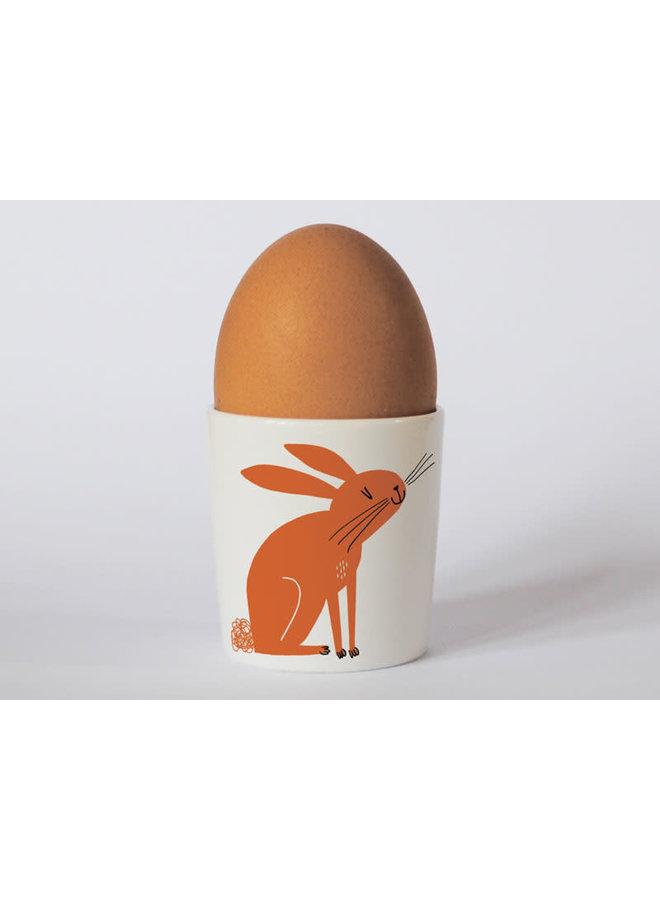 Happiness Rabbit Orange Eierbecher 98