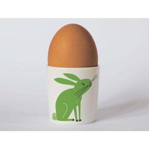Repeat Repeat Happines Rabbit Green eggcup 99