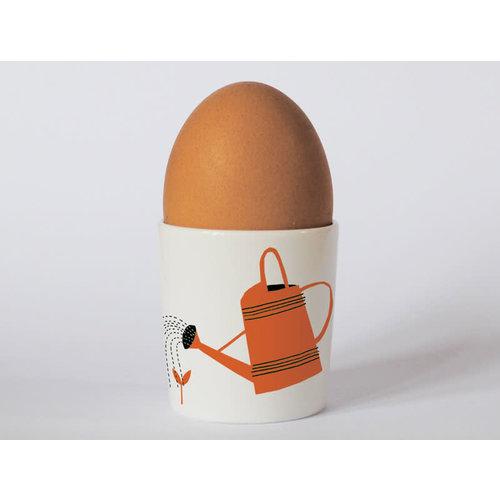 Repeat Repeat Happines Gardening Orange eggcup 90