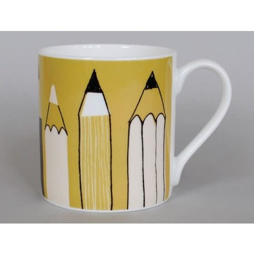 Repeat Repeat Gallery Mug Pencils Olive