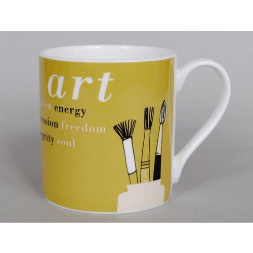 Repeat Repeat Gallery Mug Art Olive 68