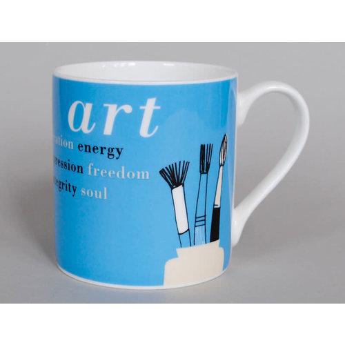 Repeat Repeat Gallery Mug Art Blue 69