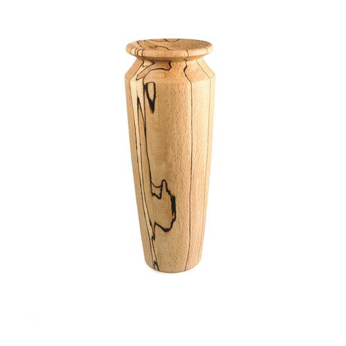 Kim W Davis Spalted Beech Hand Turned  Tall Vase 28