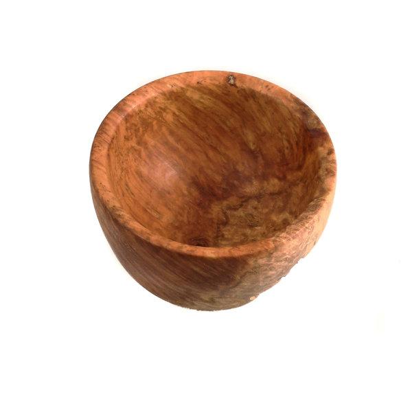 Rote Mallee Holz Hand gedreht Grat Schüssel 30