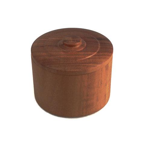 Kim W Davis Gongalo Alves Wood  Hand Turned Lidded Box 27