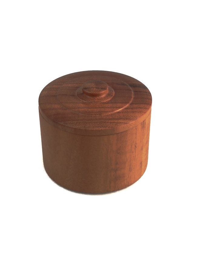 Gongalo Alves Wood  Hand Turned Lidded Box 27