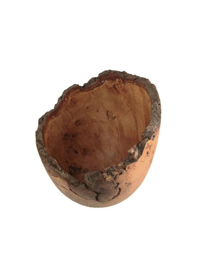 Buche Grat Holz Hand gedreht Schüssel 34