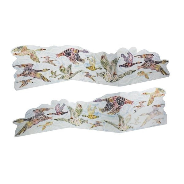 Flying Geese 3D Trifold card