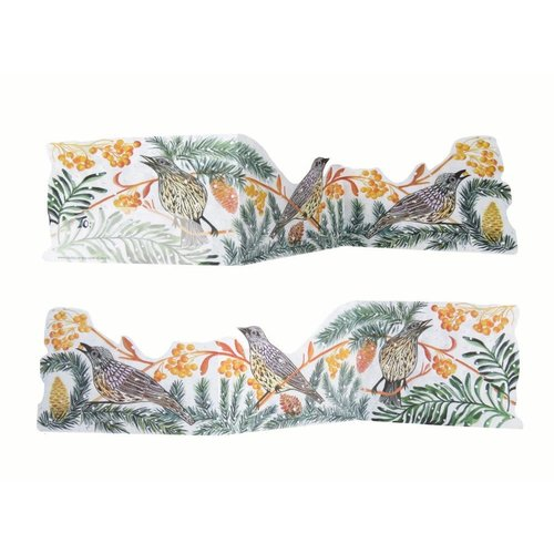 Judy Lumley Autumn Fieldfare 3D Trifold card