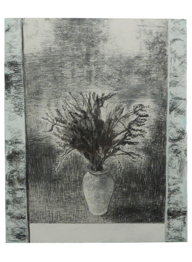Dead Heather charcoal and conte on paper 67