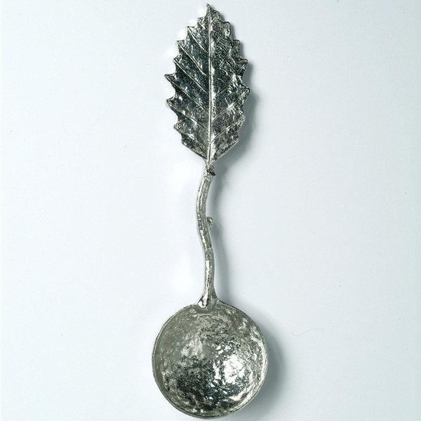 Chestnut Leaf Small Sugar Spoon