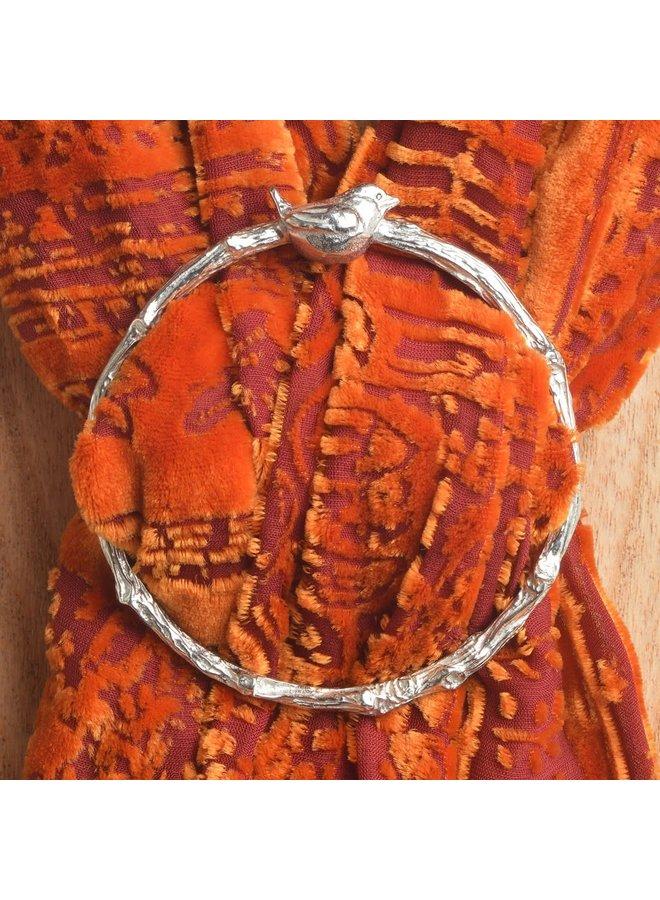 Vogel Zaunkönig Schal Ring