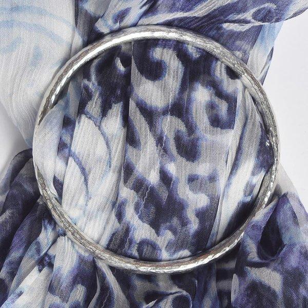 Anillo de la bufanda grande liso