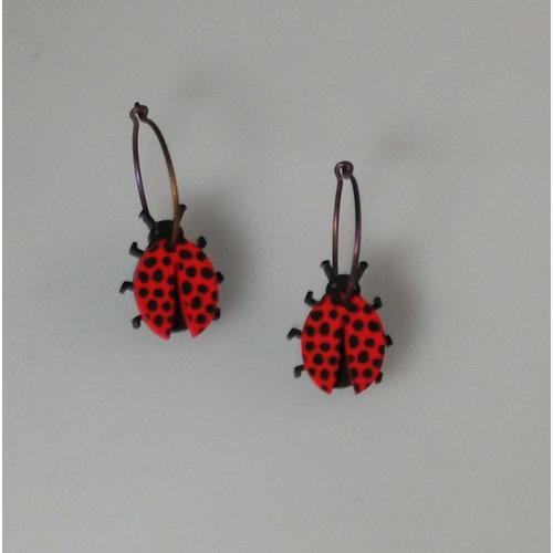 Lene Lundberg Ladybird hoops