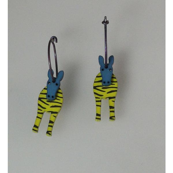 Green zebra hoops 20