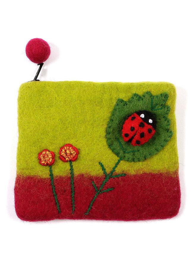 Ladybird Purse Felt 03