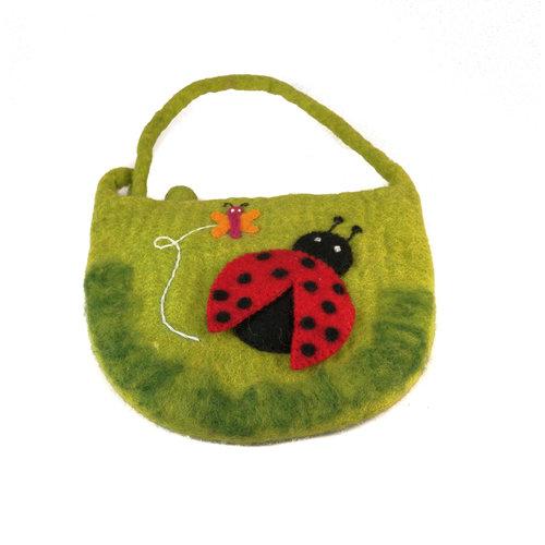Pretty Craft Ladybird Large Strap Bag Felt 19