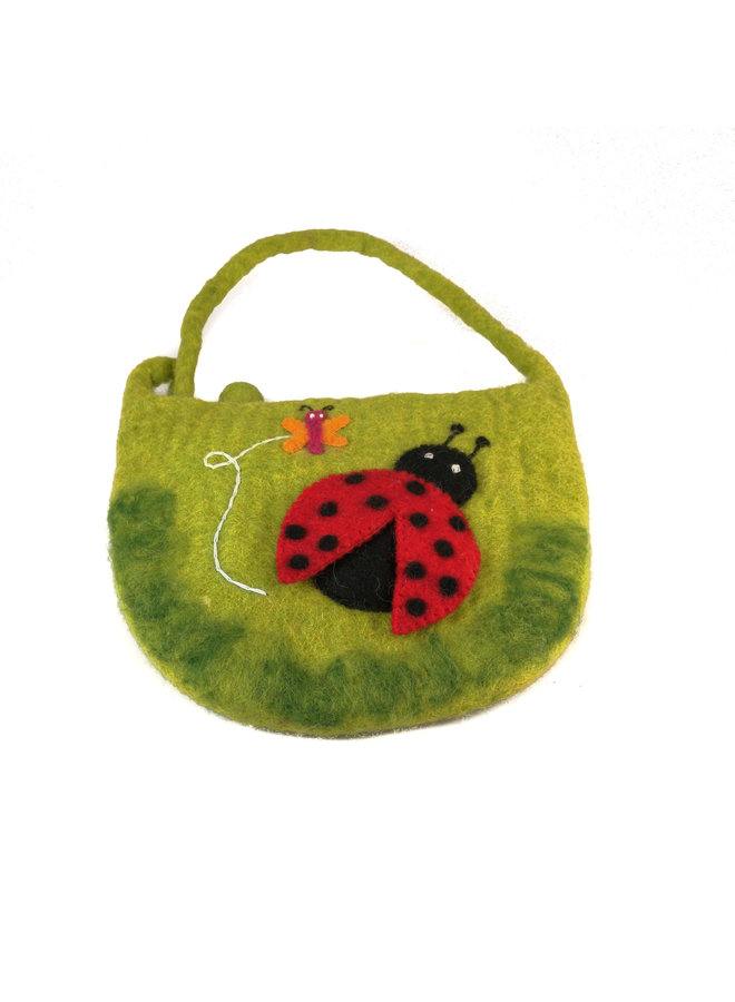 Ladybird Large Strap Bag Felt 19