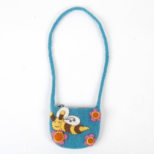 Pretty Craft Bee Small Strap Bag Felt 15