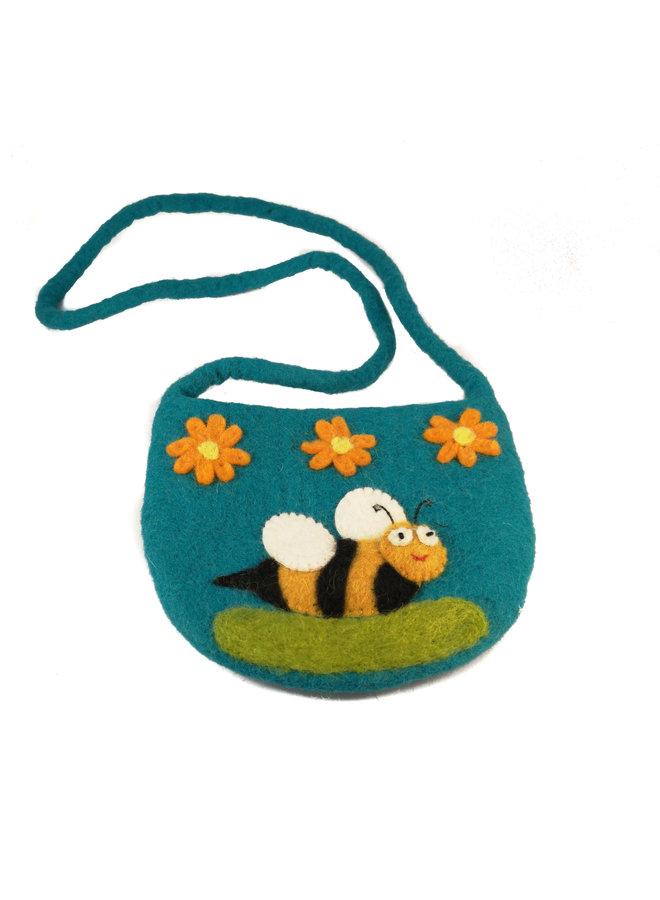 Bee Large Strap Bag Felt 18