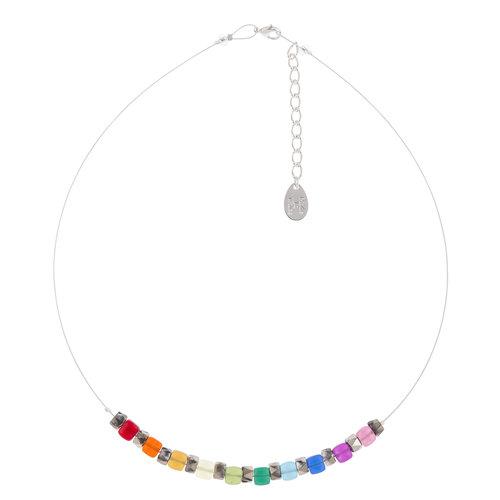 Carrie Elspeth Collar Rainbow Sparkle Links