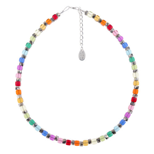 Carrie Elspeth Necklace Rainbow Sparkle Full