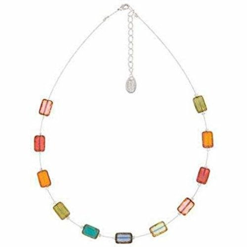 Carrie Elspeth Necklace Picasso Spaced - Rainbow / Autumn