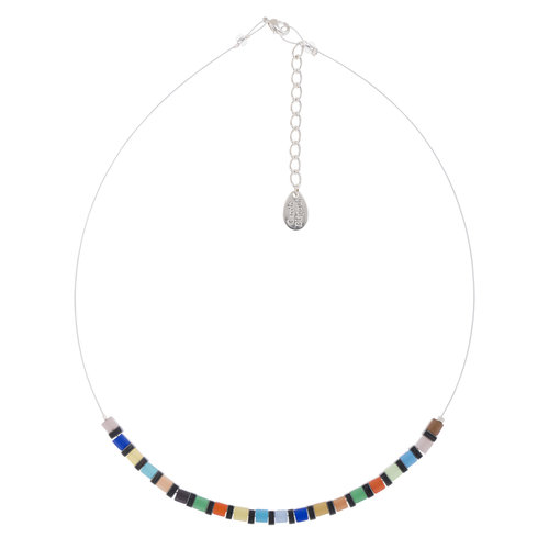 Carrie Elspeth Collar Night-time Cats Eye Cubes links