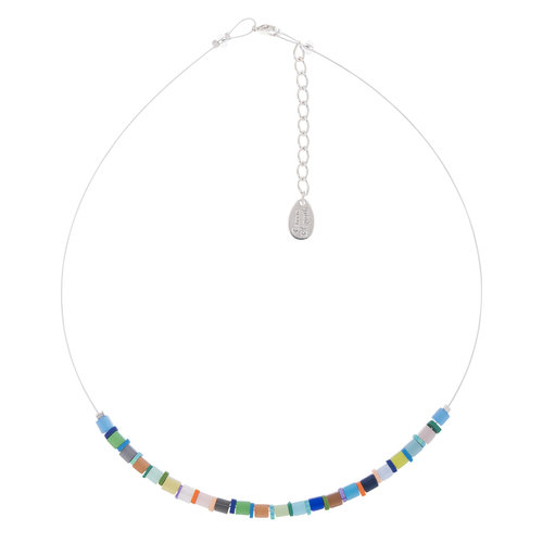 Carrie Elspeth Collar Diurno Cats Eye Cubes links