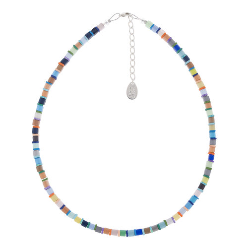 Carrie Elspeth Necklace Day-time Cats Eye Cubes Full