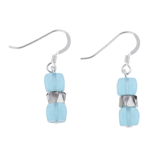 Carrie Elspeth Earrings Turquoise  Sparkle 012