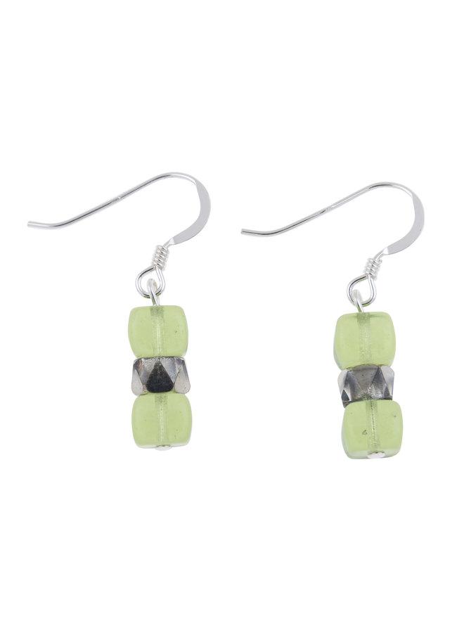 Ohrringe Lime Sparkle 010