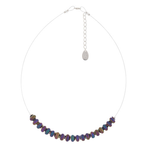 Carrie Elspeth Collar de enlaces de pepitas de espectro