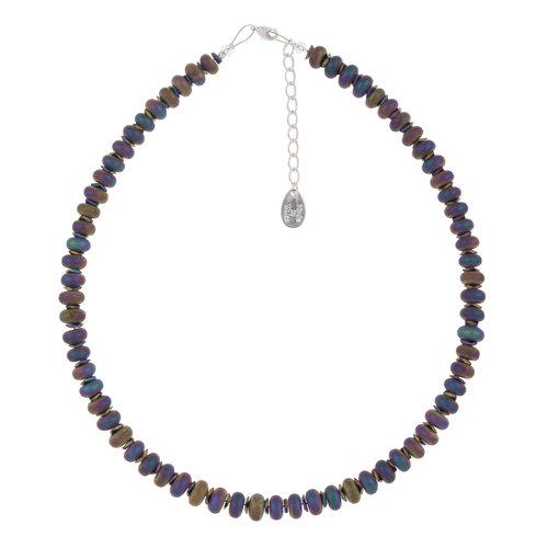 Carrie Elspeth Collar completo de pepitas de espectro
