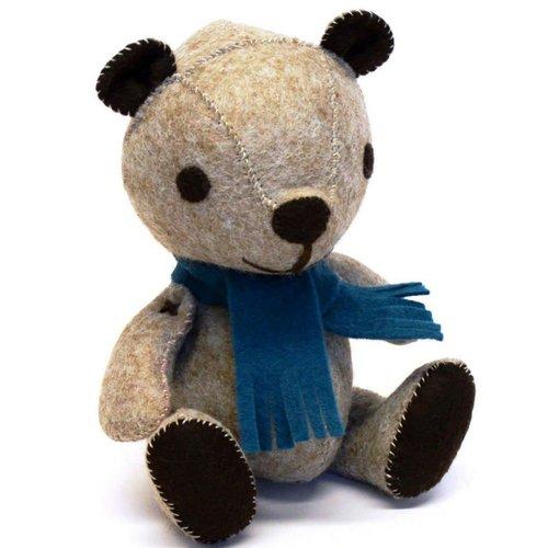 Corinne Lapierre Vintage Teddy  Felt   Craft  Kit