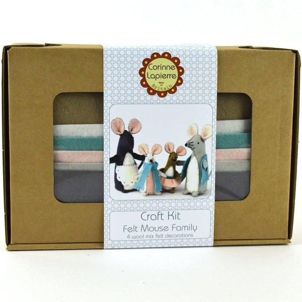 Mouse Family   Felt   Craft  Kit